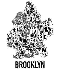 map brookly
